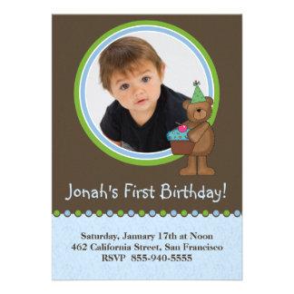 Convites do primeiro aniversario