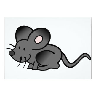 Convites do rato dos desenhos animados