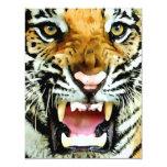 Convites do tigre convite 10.79 x 13.97cm