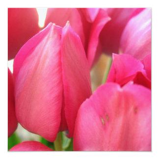 Convites dos bulbos da tulipa
