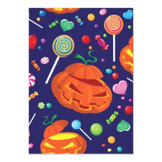 Convites dos doces do Dia das Bruxas