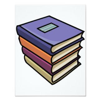 Convites dos livros de texto da escola