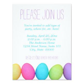 Convites dos ovos da páscoa