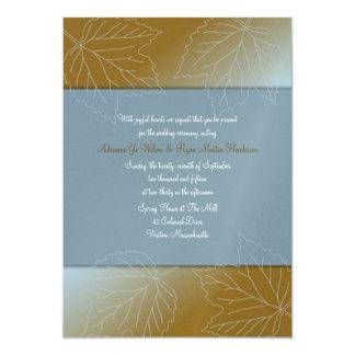 Convites feitos sob encomenda do casamento do convite 12.7 x 17.78cm