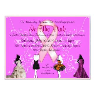 Convites feitos sob encomenda do evento do cancro