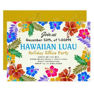 Convites feitos sob encomenda havaianos do