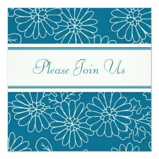 Convites florais da renovação do voto de casamento