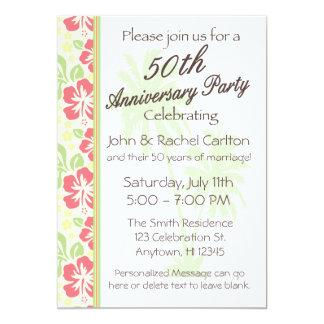 Convites havaianos da festa de aniversário de Luau