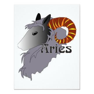 Convites lunáticos do Aries