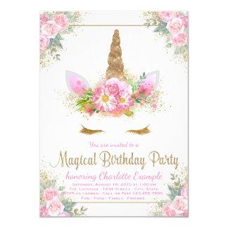 Convites mágicos da festa de aniversario de