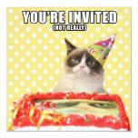 Convites mal-humorados do gato - você é convidado