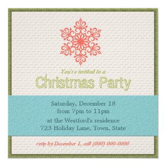 Convites modernos da festa de Natal