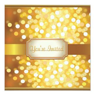 Convites personalizados da véspera de ano novo