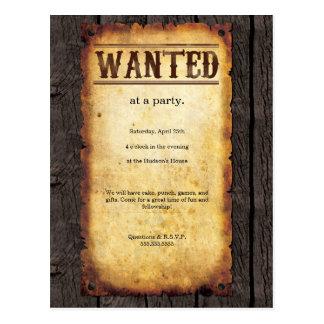 Convites queridos do poster