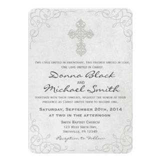 Convites religiosos transversais delicados do