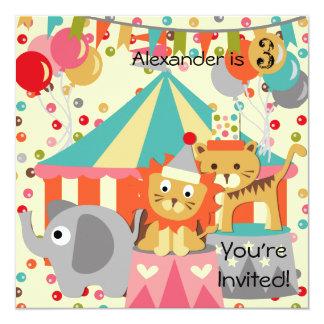 Convites retros personalizados do aniversário do