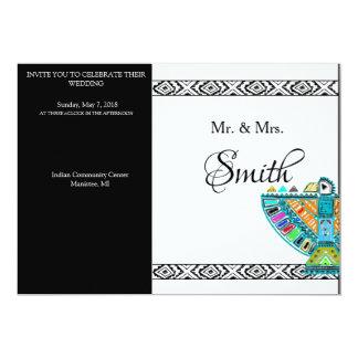 Convites tribais elegantes feitos sob encomenda do