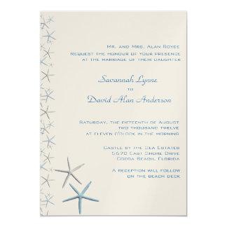 Convites tropicais do casamento das estrelas de