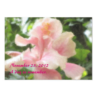 Convites tropicais havaianos do hibiscus