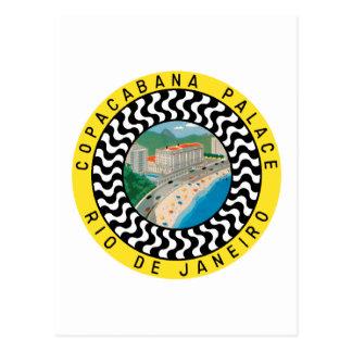 CopacabanaPalaceRio Cartão Postal