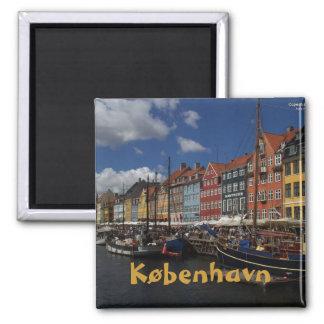 Copenhaga Ímã Quadrado