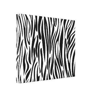 Cópia animal preto e branco impressão em canvas