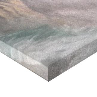 Cópia da pintura a óleo de cachoeiras de Victoria Impressão Em Tela