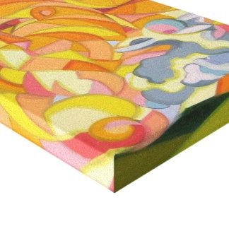 Cópia das canvas do cordeiro e do leão impressão em tela