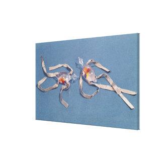 Cópia de dois termômetros médicos impressão em canvas