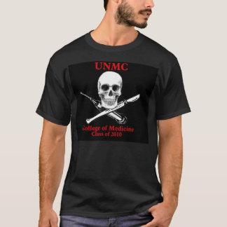 Cópia do crânio e da seringa de UNMC Camiseta