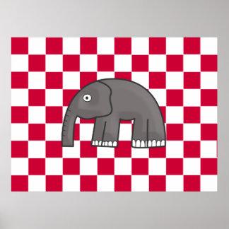 cópia do elefante poster