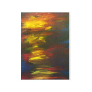 Cópia dos peixes de Adam da pintura original Impressão Em Tela