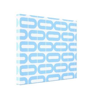 Cópia geométrica abstrata impressão de canvas envolvida