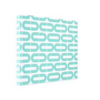 Cópia geométrica abstrata impressão de canvas esticadas