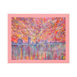 Cópia Nova Orleães elétrica das canvas Impressão Em Canvas
