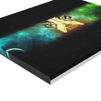 cópia original das canvas do design 3d impressão de canvas envolvida