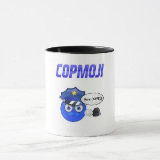CopMoji - mais café!!! Caneca
