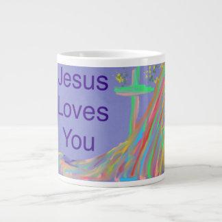 Copo cristão da caneca de café de Jesus da igreja