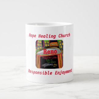 Copo cura da caneca de café da igreja da esperança