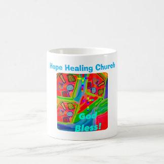 Copo cura da caneca de café dos deus abençoe da