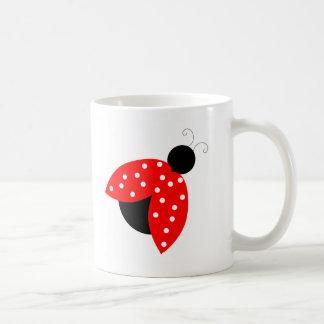 Copo da caneca de café do joaninha
