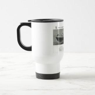 Copo da caneca de viagem do café do artesanato de