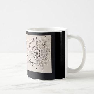 Copo da coleção da terapia da arte da mente do caneca de café