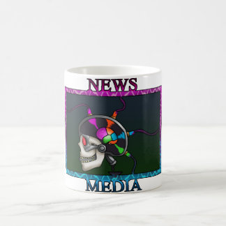 Copo da notícia caneca de café