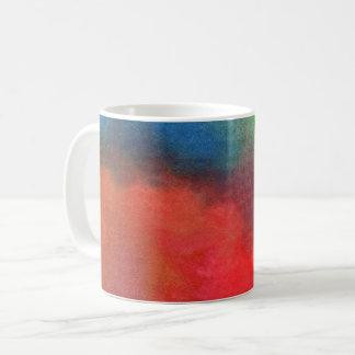 Copo de café, aguarela, tintura do laço caneca de café