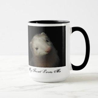 Copo de café da doninha caneca