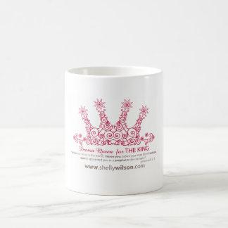 Copo de café da rainha do drama caneca de café