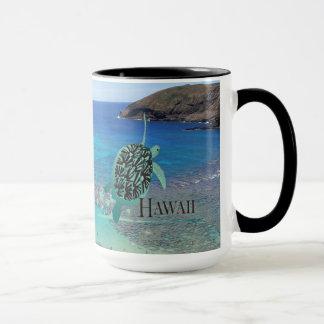 Copo de café da tartaruga de Havaí Caneca