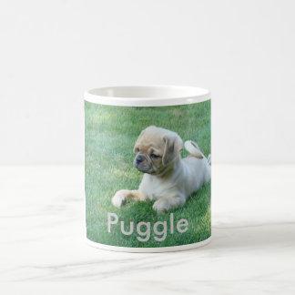 Copo de café de Puggle Caneca De Café
