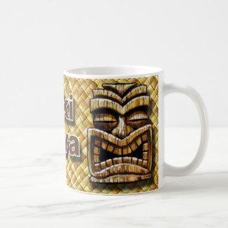 Copo de café do homem de Tiki Caneca De Café